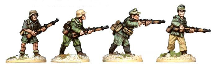 SWW002  Deutches Afrika Korps Riflemen II (4)