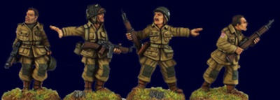 SWW314  U.S. Airborne Characters (4)