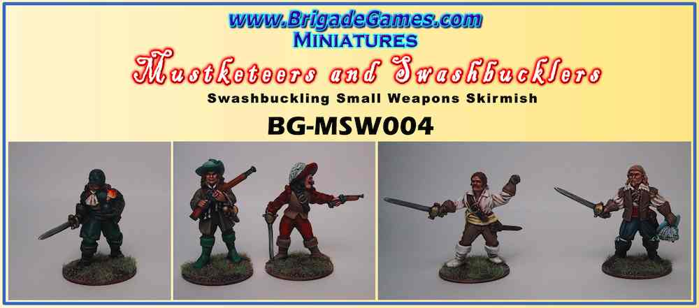 BG-MSW004  Musketeers and Swashbucklers 4 (5)