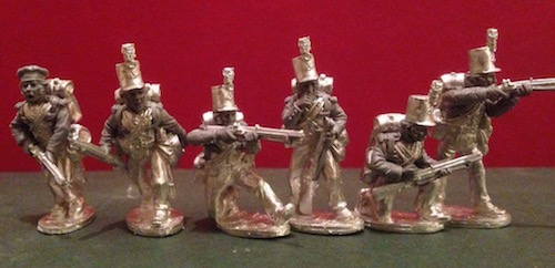 BG-NBR070  British Rifles I (all 6 variants)