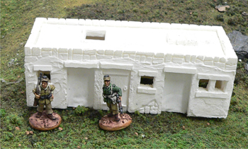Middle East / North African Building - small - for 28mm