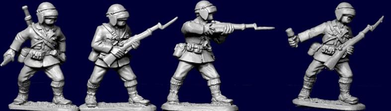 Plate 1 Guilds of Bologna 28mm  Italian Wars Condottieri