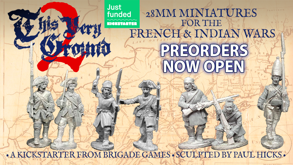 French and Indian War Kickstarter Late Backer Preorder Store