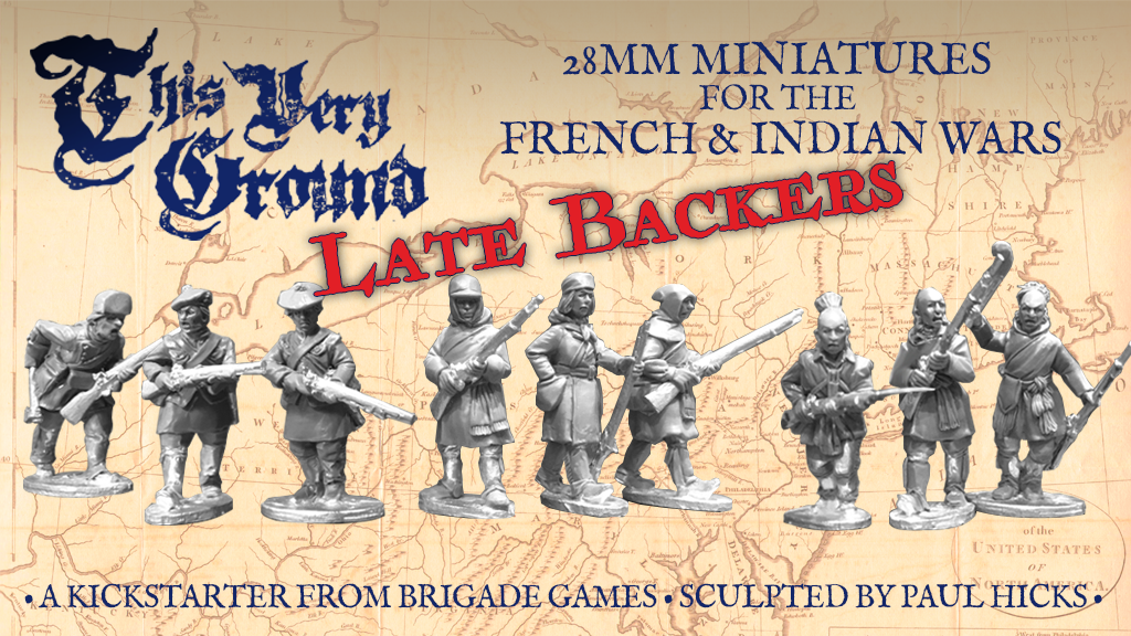 French and Indian War Kickstarter