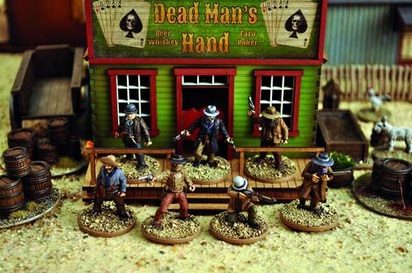 Dead Man's Hand Western Outlaw Miniatures