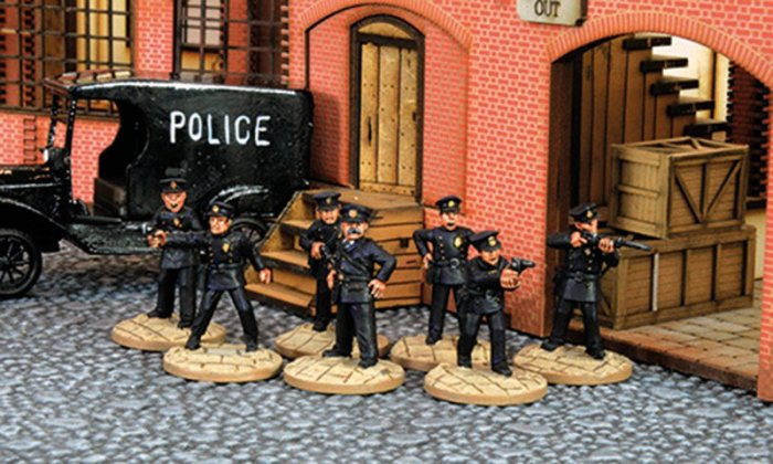 TCW006 - The Chicago Way Police Officers