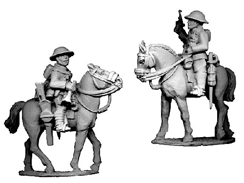British Cavalry command (Officer and Bugler) (2)