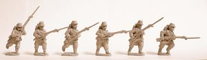 GW-F101  French Army 1914 - Infantry Advancing (6)
