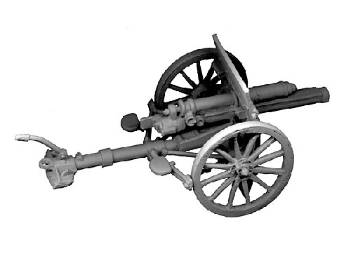 GW-GUN02  British 18pdr Mk I gun (1)(does not include crew)