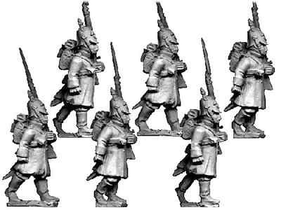 Russian Grenadiers in Helmets