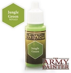 Army Painter Warpaints: WP1433 Jungle Green (18ml)