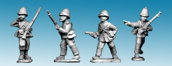 MOD034 - Legion Command in Troupes Colonial Uniform and Sun Helmet (4)