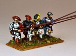 REN006 - Landsknecht Armoured Pikemen Advancing (8)