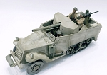 Philippines 1941 U.S. M3 75mm SPM and 3 Army crew (1/56)(PREORDER)