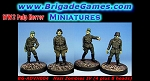 Evil German Zombies IV (Neubelebentruppen - Reanimated Troopers)(4 plus 8 heads)