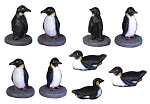Penguins - set of 9