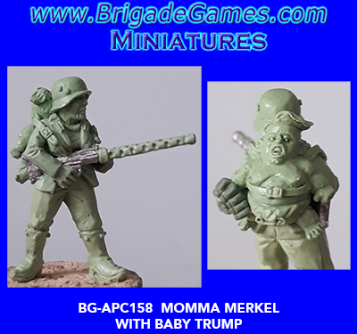 BG-APC158 Apocalypse: Momma Merkel and Baby Trump (1)