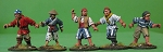 BG-BPP004  Buccaneers, Privateers and Pirates IV (5)(Open hands and weapons sprues)