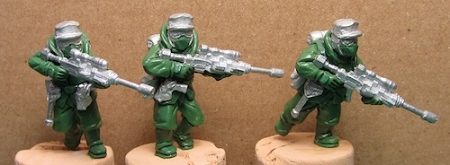 Sci-Fi Federation Trooper Set (15)