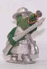 Gnome Wars Southern Americans (Confederate) Bugler