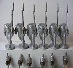 BG-NBR001FS  British Infantry - Centre Co. Marching - Stovepipe Shako (all 6 variants)
