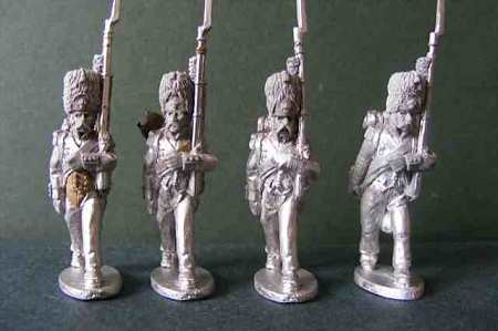 BG-NFR007  French Line Grenadiers March Attack Campaign Uniform, Bearskin, French Rev - 1806/7 (All 4 variants)
