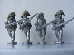 BG-NFR012  French Line Grenadiers Advancing Kleber Campaign Uniform, Bicornes, Egypt Campaign (All 4 variants)