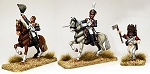 BG-NFR191  Mounted French Colonels and French Foot Pioneer
