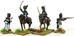 BG-NFR190  French Old Guard Mounted Colonels and French Foot Pioneers (2/2)
