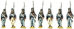 BG-NPT002  Portuguese Grenadiers Marching (8 figure pack)