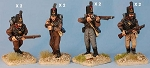 BG-NPT007  Cacadores armed with muskets (8 figure pack)