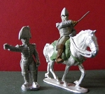 BG-NUS020  War of 1812: U.S. High Command (foot and mounted officer)