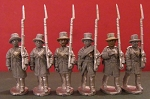 BG-NUS042  War of 1812: U.S. Militia - Marching (All 6 variants)