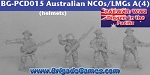 Australians in the Pacific - NCOs/LMGs B - Tin Helmets (4)