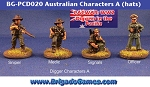 Australians in the Pacific - Characters A - hats (4)