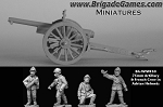 French 75mm Artillery and French Crew (4)