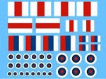 Decals: Generic British roundrels