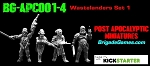 BG-APC001-4  Apocalyptic Wastelanders 1 (set of 4)