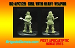 BG-APC129  Girl with Axe