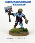 BG-APC150  Apocalypse: Zombie Hillary with Blackberry and Campaign Sign (1)