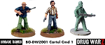 Drug War Z: Cartel Command I (3) (28mm Unpainted)