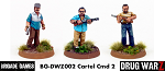 Drug War Z: Cartel Command II (3) (28mm Unpainted)