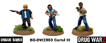 Drug War Z: Cartel Command III (3) (28mm Unpainted)