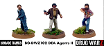 Drug War Z: DEA Agents II (3) (28mm Unpainted)