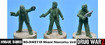 Drug War Z: Miami Narcotics Unit  (3)  (28mm Unpainted)