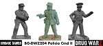 Drug War Z: Policia Command II (3)  (28mm Unpainted)