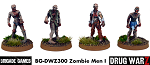 Drug War Z: Zombie Men I (4)  (28mm Unpainted)