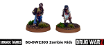 Drug War Z: Zombie Kids (2)  (28mm Unpainted)