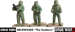 Drug War Z: The Cookers  (3)  (28mm Unpainted)