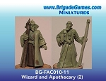 BG-FAC010-11  Wizard Master and Apothecary - Adventurers of the North Range